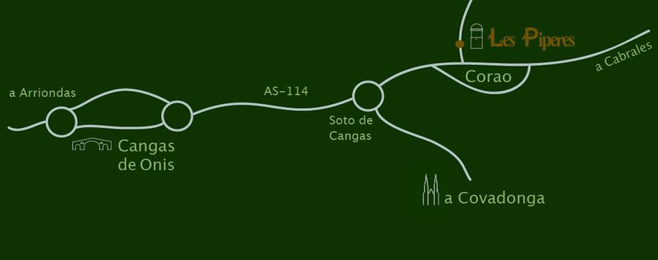 Localización Les Piperes